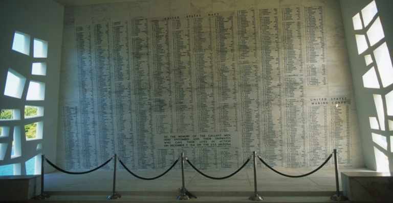 uss-arizona-memorial-wall-P