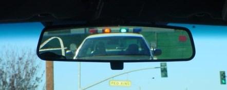 Police-REAR-viewmirror