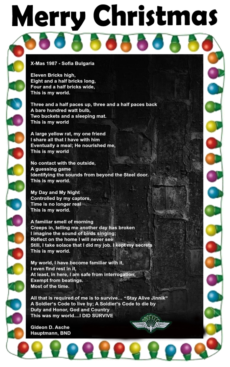 cell poem christmas wings