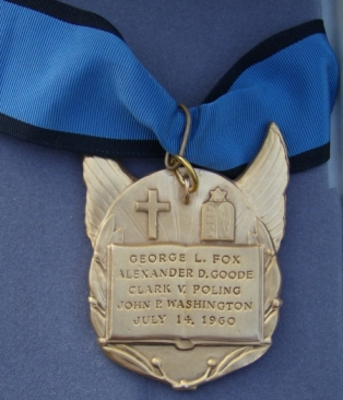 caplains medal